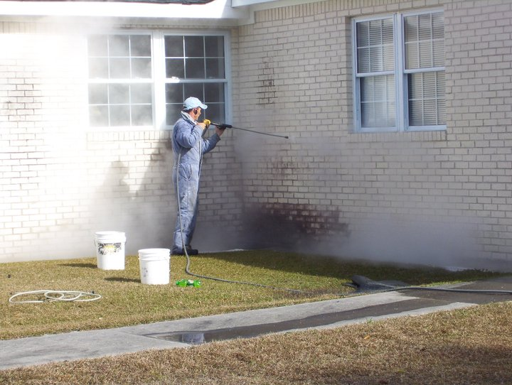 Pressure Washed Home