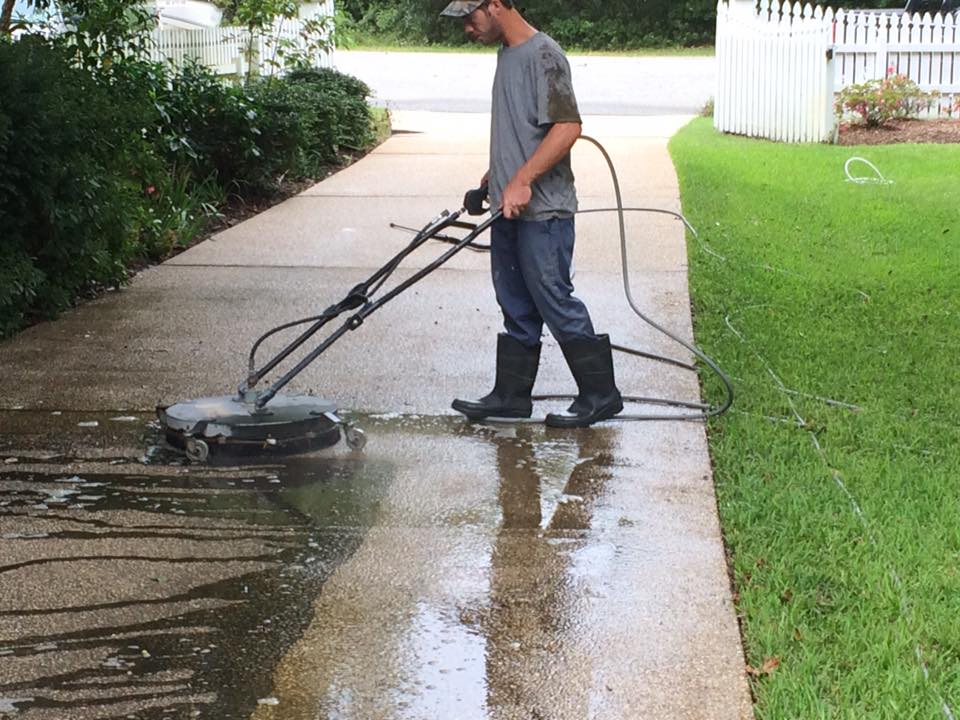 Residential Pressure Washing 2