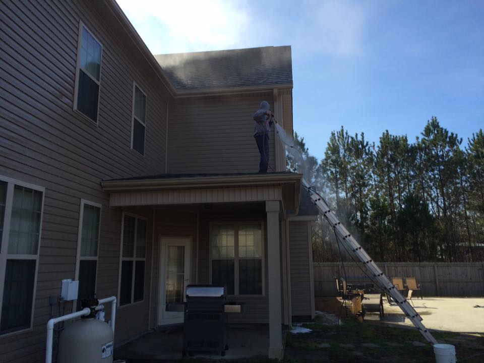 Residential Roof Pressure Washing