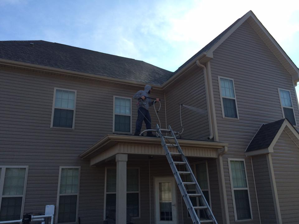 Residential Siding Pressure Washing 4