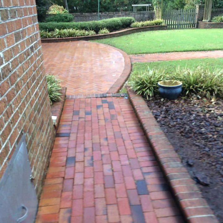 Wilmington NC Pressure Washing Pathway